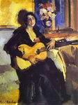 Lady with Guitar.
