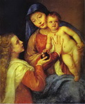 Madonna and Child with Mary Magdalene.