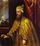 Portrait of Doge Francesco Venier.