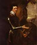 Thomas Wentworth, 1st Earl of Strafford in an Armor.