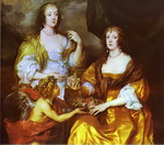 Lady Elizabeth Thimbleby and Dorothy, Viscountess Andover.