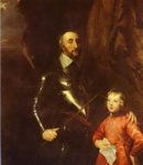 Thomas Howard, 2nd Earl of Arundel and Surrey with His Grandson Lord Maltravers.