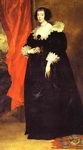 Portrait of Marguerite of Lorraine, Duchess of Orléans.