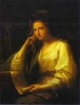 Portrait of a Young Woman as a Sibyl.