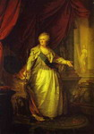 Portrait of Catherine II the Great.