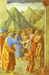 St. Peter Baptizing the Neophytes.