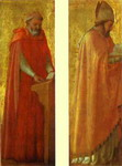 St. Jerome and St. Augustine. Panels from the Pisa Altar.