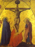 Crucifixion. Panel from the Pisa