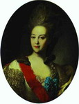 Portrait of Countess Ekaterina Orlova.