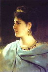 Portrait of a Roman Woman.