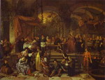 The Marriage Feast at Cana.