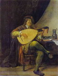 Self-Portrait with a Lute.