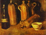 Still Life with Four Jugs.