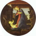 The Virgin Adoring the Child.